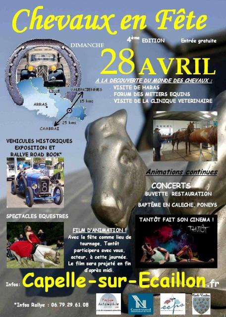 """"""" Chevaux en Fête """" à Capelle sur Ecaillon (59), dimanche 28 avril 2013"""
