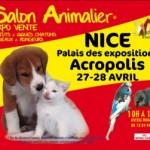 "Salon animalier "" Animal Focus "" à Nice (06), samedi 27 et dimanche 28 avril 2013"