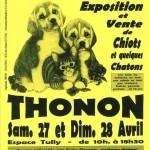 Salon Animalia à Thonon les Bains (74), samedi 27 et dimanche 28 avril 2013