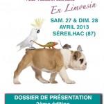 Salon des Animaux de Compagnie à Séreilhac (87), samedi 27 et dimanche 28 avril 2013
