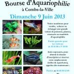 Bourse d'Aquariophilie à Combs-la-Ville (77), dimanche 09 juin 2013
