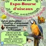 """""""Expo-Bourse d'Oiseaux"""" à Saint Goulue d'Oie, du 28 au 29 septembre 2013"""