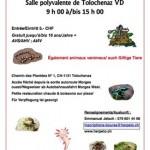 Bourse aux reptiles à Tolochenaz (Suisse), le dimanche 09 juin 2013