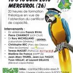 Journées de formation au certificat de capacité aviaire à Mercurol (26), samedi 15 et dimanche 16 juin 2013