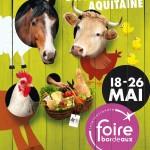 Salon de l'Agriculture Aquitaine à Bordeaux, du samedi 18 mai au dimanche 26 mai 2013
