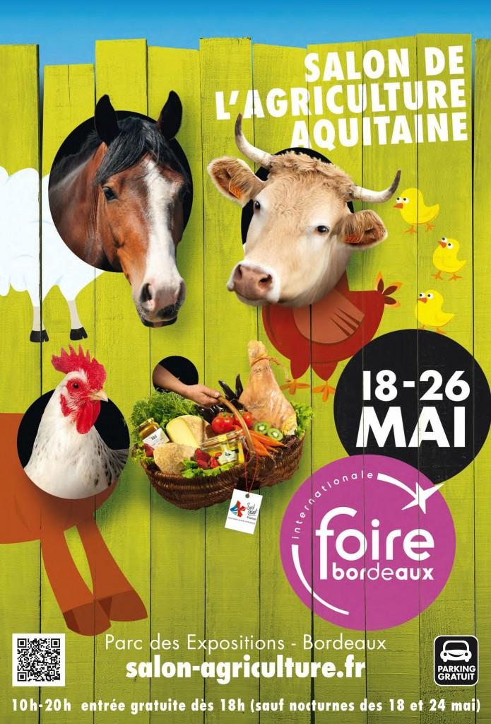 Salon de l agriculture aquitaine bordeaux 33 du for Nocturne salon agriculture