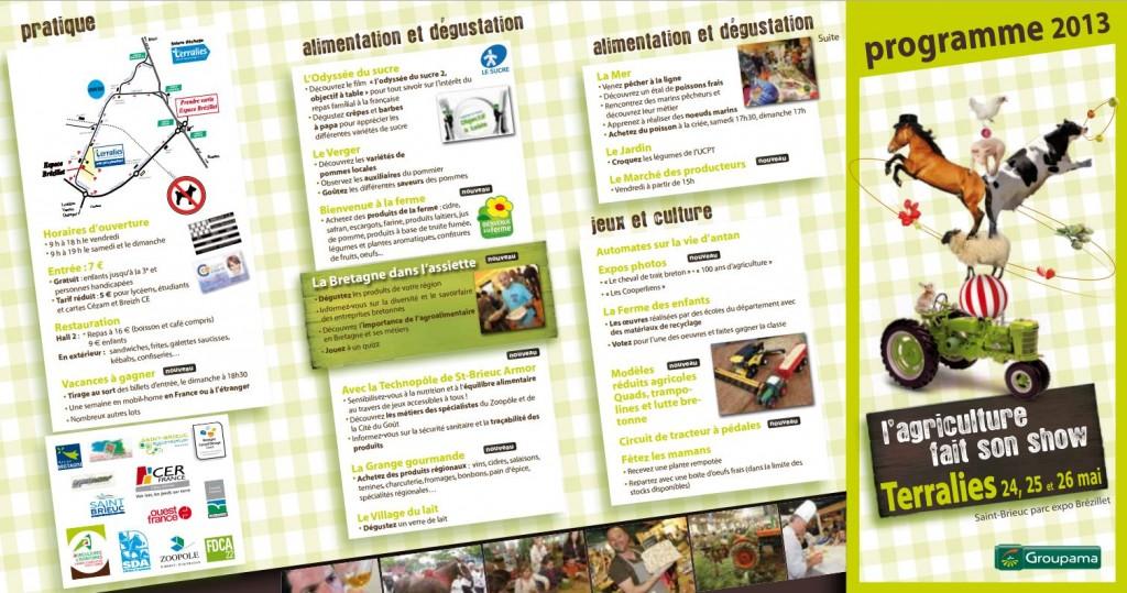 Salon de l'Agriculture en Côte d'Armor, L'agriculture fait son Show à Saint Brieuc (22), du vendredi 24 au dimanche 26 mai 2013