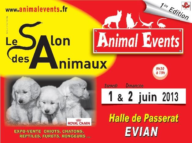 Le Salon des Animaux, Evian (74), samedi 01 et dimanche 02 juin 2013