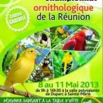 26 ème Championnat ornithologique de la Réunion, du mercredi 08 au samedi 11 mai 2013