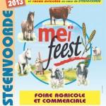 """Foire agricole et commerciale """" Meï Feest """" à Steenvoorde, samedi 18 et dimanche 19 mai 2013"""