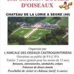 """Bourse, exposition """"Bourse-expo d'oiseaux"""" à la Chapelle-sur-Oudon (49), dimanche 16 juin 2013"""