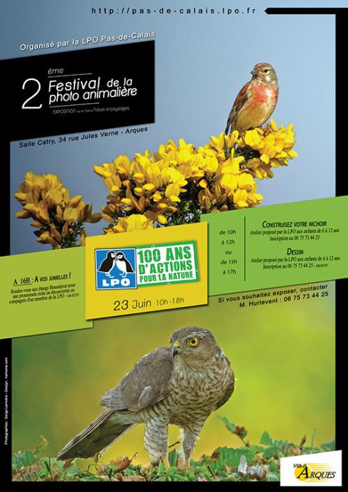 2 ème Festival de la photo animalière, à Arques (62), dimanche 23 juin 2013