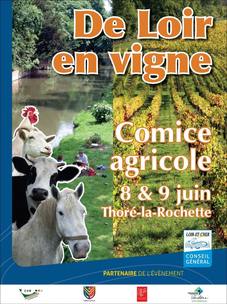 De Loir en vigne, Comice agricole à Thore la Rochette (41), samedi 08 et dimanche 09 juin 2013