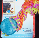 Jouet à mâcher pour chien : Orka dental puck (Petstages)