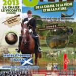 8 ème Fête de la Chasse, de la Pêche et de la Nature à La Chaize le Vicomte (85), samedi 27 et dimanche 28 juillet 2013