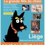 Golden Dog Trophy, La grande Fête du Chien à Liège (Belgique), samedi 20 et dimanche 21 juillet 2013