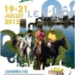 Equirando, rassemblement équestre  à Lignières (18), vendredi 19, samedi 20 et dimanche 21 juillet 2013