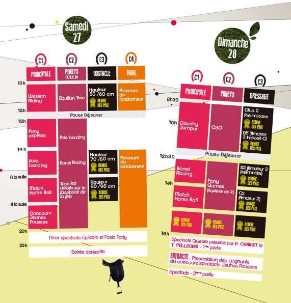 Fête du Cheval à Levens (06), samedi 27 et dimanche 28 juillet 2013
