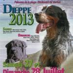 Exposition Canine Nationale à Dieppe (76), samedi 27 et dimanche 28 juillet 2013