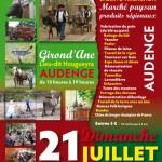 Fête des Traditions à Audenge (33),le dimanche 21 juillet 2013