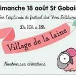 Fête du Village de la laine à Saint Gobain (02), le dimanche 18 août 2013