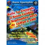 Bourse aquariophile à Saint Loubès (33), le dimanche 08 septembre 2013