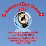Exposition Canine Européenne à Genève (Suisse), du jeudi 29 août au dimanche 01 er septembre 2013