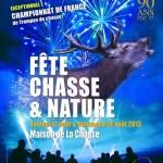 8 ème Fête Chasse et Nature à Thilouze (37), samedi 17 et dimanche 18 août 2013