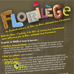 Florilège, la Fête du Parc National des Cévennes à Florac (48), le dimanche 11 août 2013