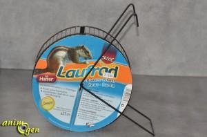Accessoire et jeu pour rongeur : roue Laufrad pour écureuils, octodons et rats (Trixie)