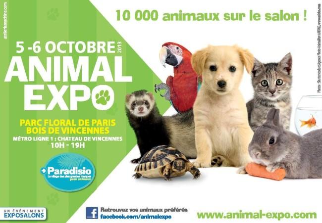 salon animal expo paris 75 samedi 05 et dimanche 06