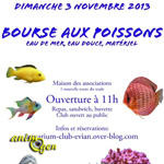 Bourse aux poissons à Evian les Bains (74), le dimanche 03 novembre 2013