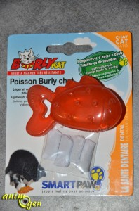 Jouet pour chat : poisson en silicone Pet Smart (Burly Kat)
