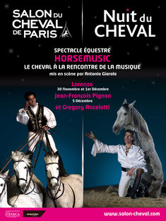 Salon du cheval paris 93 du samedi 30 novembre au for Salon du cheval paris adresse