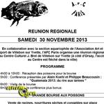 Bourse aux poissons et matériel d'occasion à Villebon sur Yvette (91), le samedi 30 novembre 2013