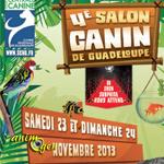 4 ème Salon Canin de Guadeloupe à Gourdelianne, du samedi 23 au dimanche 24 novembre 2013