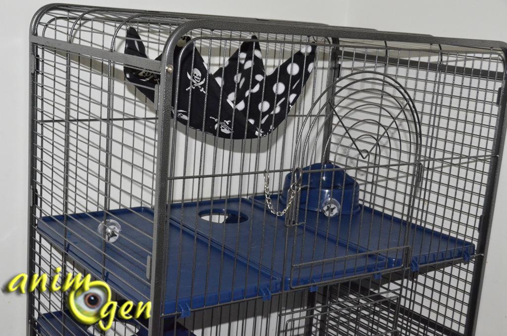 Cage pour furets rongeurs et lapins tower xl - Les furet auto ...