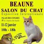 Salon du chat à Beaune (21), du samedi 11 au dimanche 12 janvier 2014