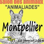 "Salon animalier ""Animaliades"" à Montpellier (34), du samedi 11 au dimanche 12 janvier 2014"