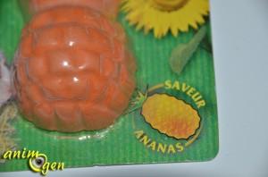 Alimentation et santé : bloc minéral pour rongeurs et lapins parfumé à l'ananas (Zolux)