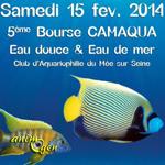 5 ème Bourse CAMAQUA eau douce et eau de mer au Mée sur Seine (77), le samedi 15 février 2014