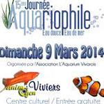 15 ème journée aquariophile eau douce eau de mer à Viviers (07), le dimanche 09 mars 2014