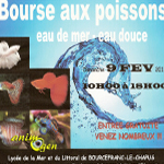 3 ème Bourse d'aquariophilie à Bourcefranc le Chapus (17), le dimanche 09 février 2014