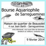 Bourse aquariophile à Sarreguemines (57), le dimanche 09 février 2014