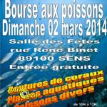 17 ème Bourse aux poissons à Sens (89), le dimanche 02 mars 2014