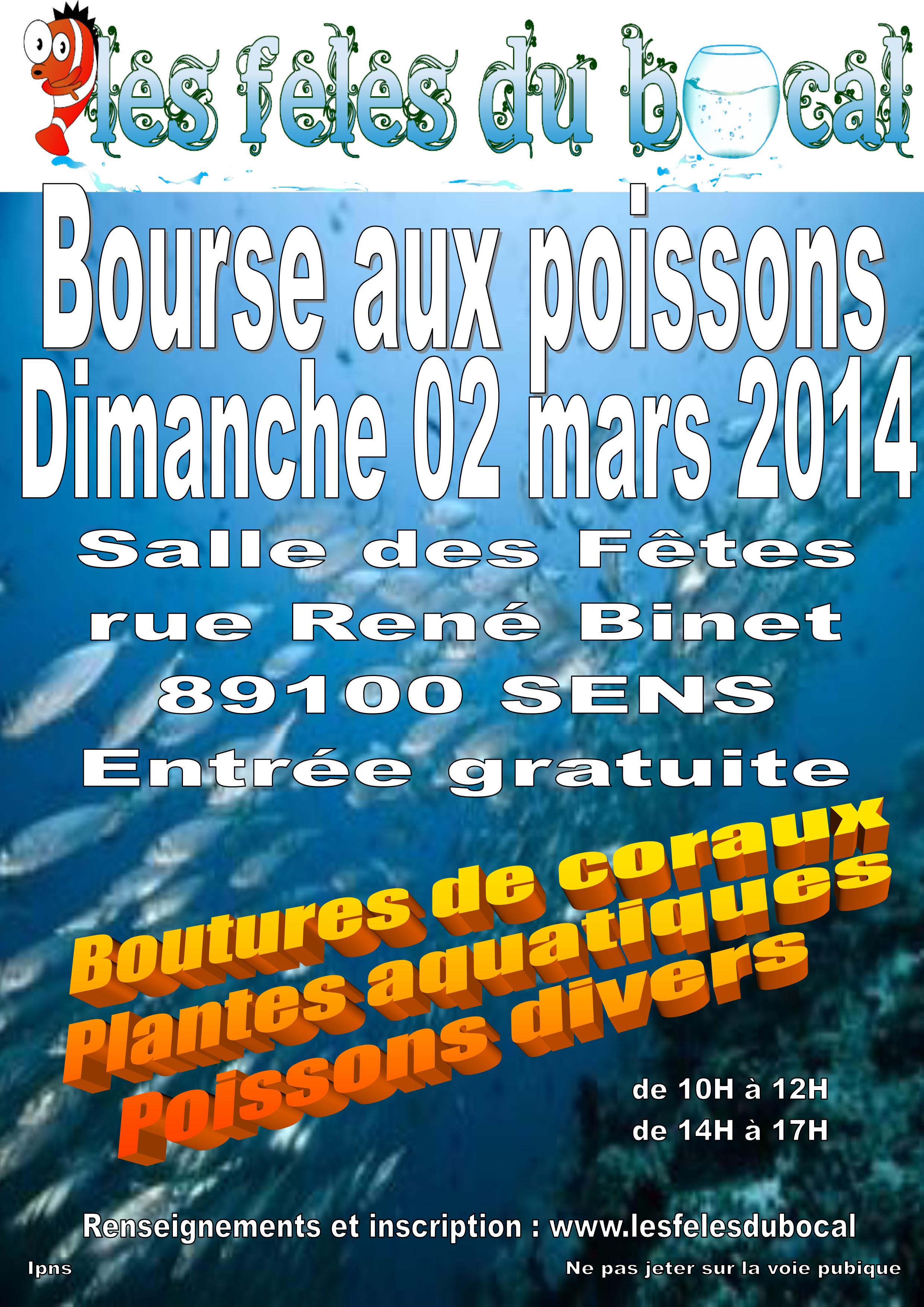 17 me bourse aux poissons sens 89 le dimanche 02 for Vente aquariophilie