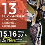 Salon-Bourse des Nouveaux Animaux de Compagnie à Still (67), du samedi 15 au dimanche 16 mars 2014