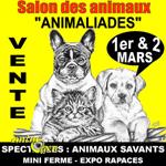 11 ème Salon animalier « Animaliades » à Perpignan (66), du samedi 01 er au dimanche 02 mars 2014