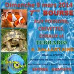 7 ème Bourse aux poissons, crevettes, coraux et terrario à Sallertaine (85), le dimanche 09 mars 2014
