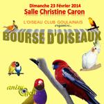 Bourse aux oiseaux à Haute Goulaine (44), le dimanche 23 février 2014
